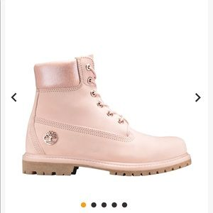rose gold timberland boots